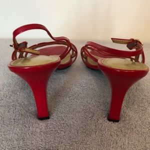 Life Stride Shoes - Lifestride size 10 sexy red sandal 3 inch heel